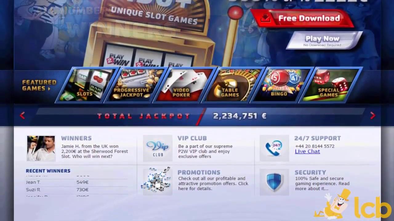 Play2win :  avis et présentation