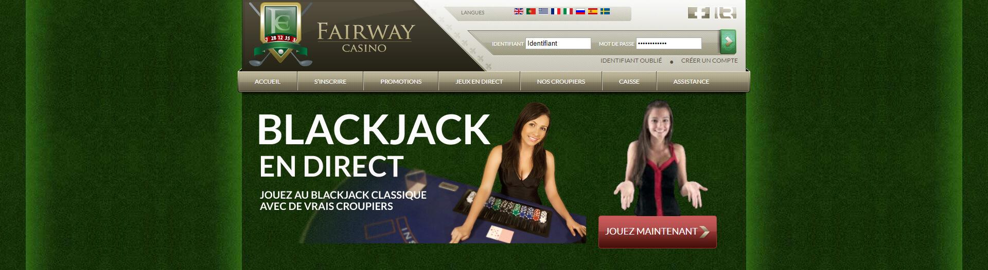 Casino Fairway : notre avis sur ce casino