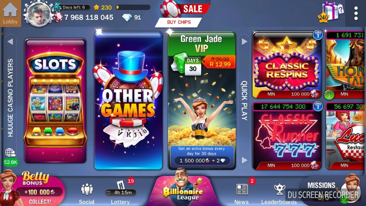 Huuuge Casino, est ce qu'il vaut la peine ?
