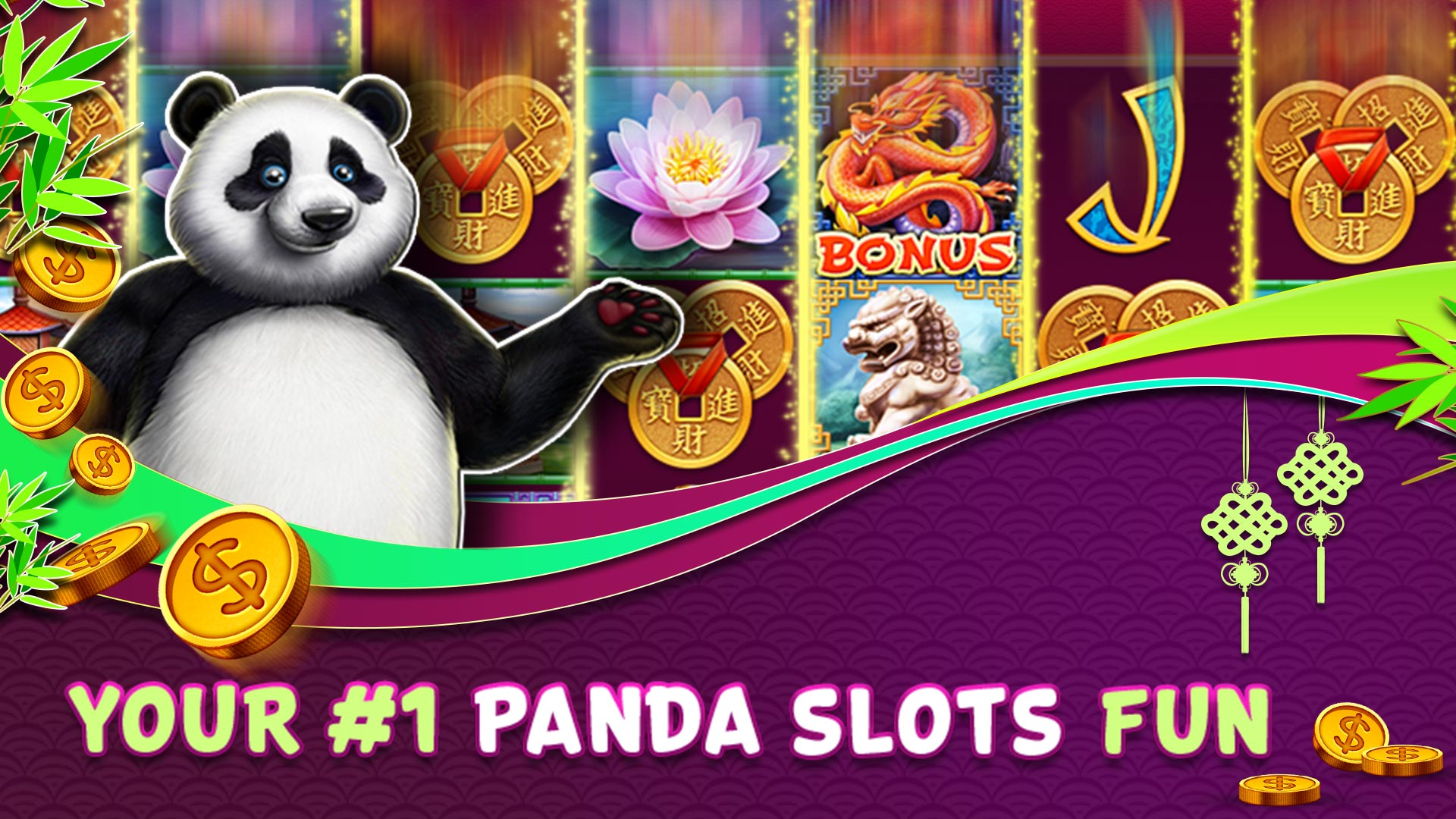 La machine à sous gratuite Panda Panda