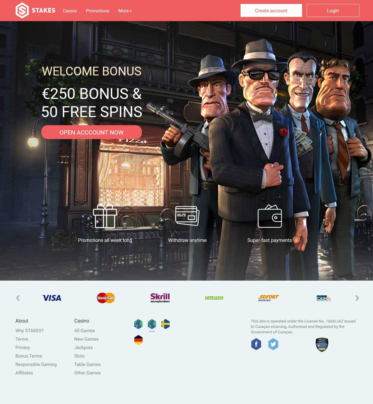 Stakes Casino avis, est ce un bon casino en ligne ?
