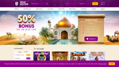 wild sultan avis