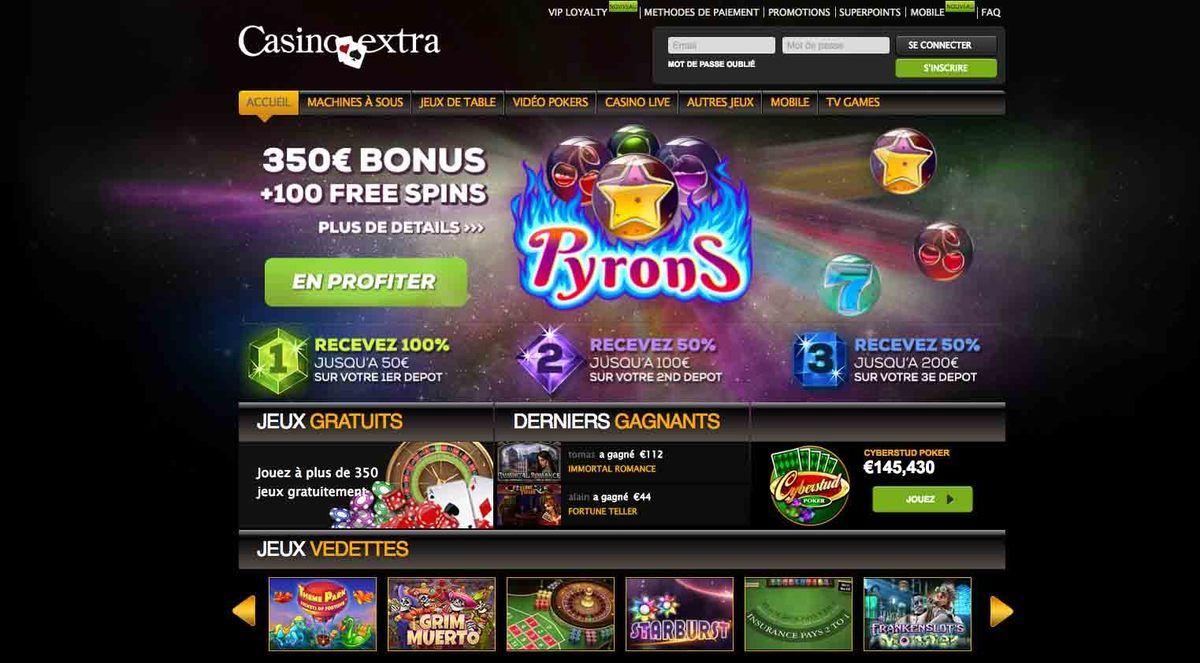 avis Exttra casino