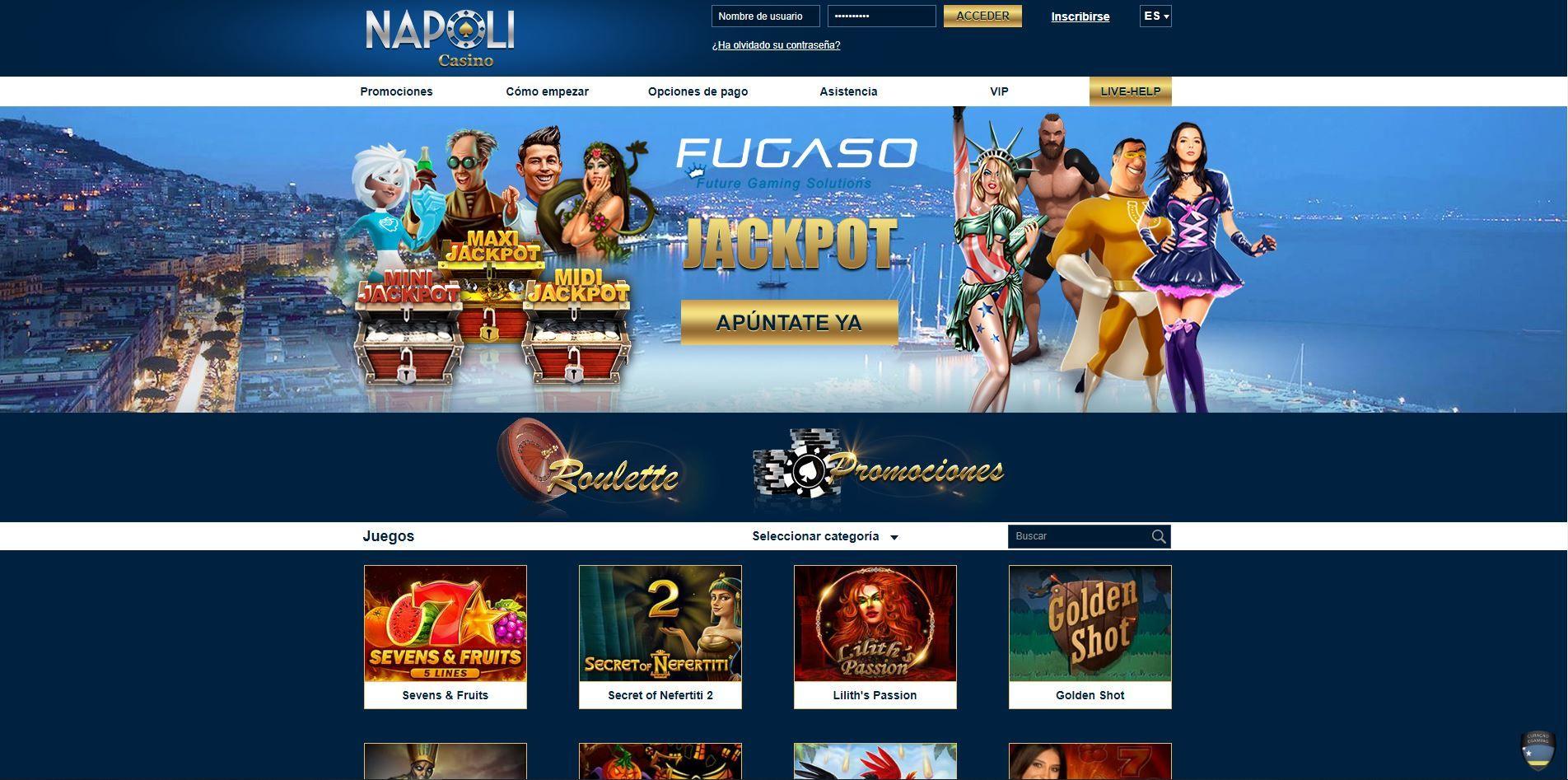 Napoli Casino avis : que vaut ce casino ?