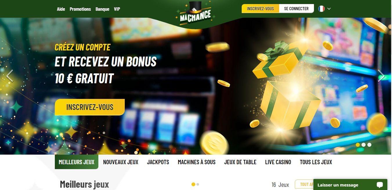 MaChance casino avis : que vaut ce casino ?