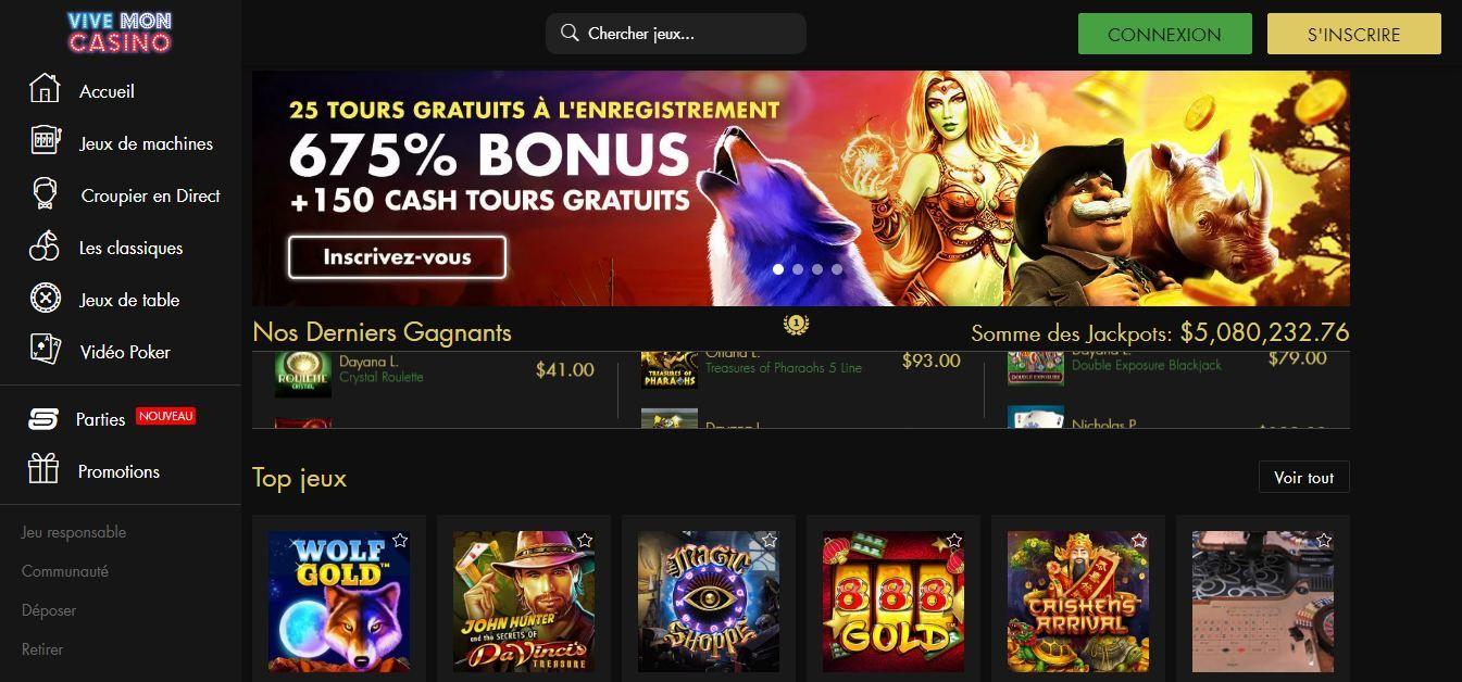Vive mon casino : le casino en ligne à éviter !